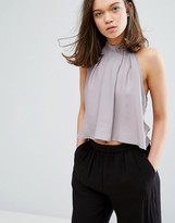 NATIVE YOUTH High Neck Swing Top