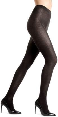 Me Moi Memoi Knit Wool-Blend Tights