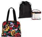 Vera Bradley Travel Bag w/ 3-1-1Cosmetic Bag