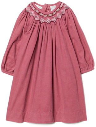 Carriage Boutique Embroidered Bishop Dress