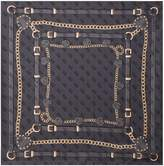 GUESS Daniella silk square scarf