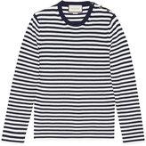 Gucci Striped cotton crew neck sweater - men - Cotton - L