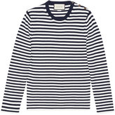 Gucci Striped cotton crew neck sweater - men - Cotton - S
