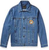 Craig Green Embroidered Denim Trucker Jacket
