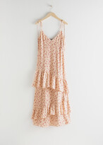 Thumbnail for your product : And other stories Ruffled Shoulder Tie Maxi Dress