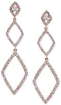 Effy Geo by Diamond Triple Drop Earrings (1-1/4 ct. t.w.) in 14k Rose Gold