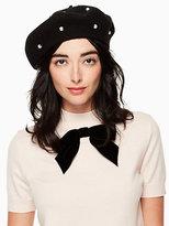 Kate Spade Pearl beret