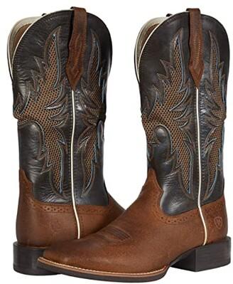 Ariat Sport Breezy VentTEK (Grizzly Oak/Tan) Cowboy Boots