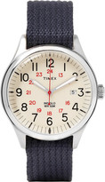 Timex - Waterbury United Stainless Steel And Webbing Watch