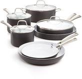 Calphalon Classic Ceramic 11-Pc. Cookware Set