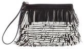 Proenza Schouler Leather Fringe Clutch
