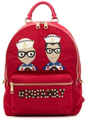 Dolce & Gabbana Vulcano #DGFamily backpack