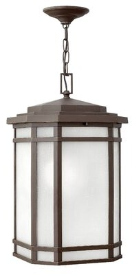 Chianna 1-Light Outdoor Hanging Lantern Darby Home Co Bulb Type: Incandescent