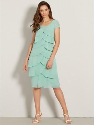 M&Co Chiffon shutter dress