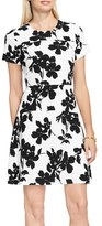 Vince Camuto Women's Fresco Blooms Fit & Flare Dress