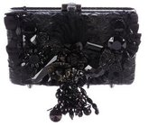 Mary Frances Prime Time Leather Clutch