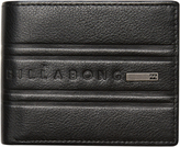 Billabong Phoenix Flip Leather Wallet Black
