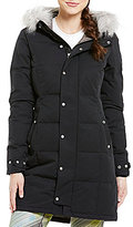 Spyder Lavinia Faux-Fur Trim Hooded Quilted Down Jacket