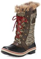 Sorel TofinoTM II Fur-Trim Quilted Boot, Cordovan