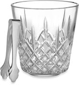 Waterford Lismore Ice Bucket with Tongs