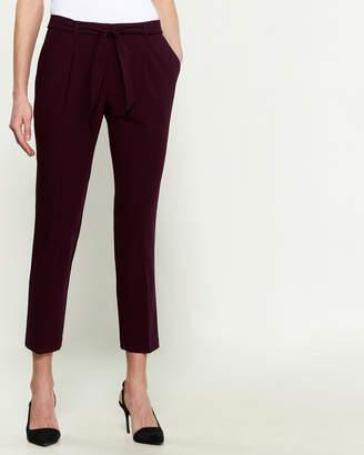 Calvin Klein Tie Belt Trouser
