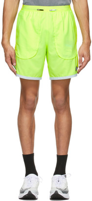 Nike Green Flex Stride Wild Run Shorts