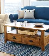 L.L. Bean Rustic Wooden Coffee Table