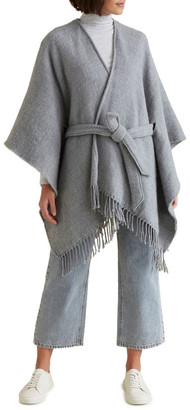 Seed Heritage Tie Up Poncho