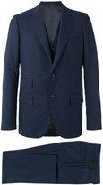 Caruso formal suit - men - Cupro/Wool - 48