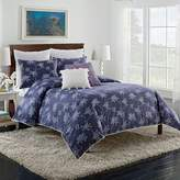 Cupcakes And Cashmere Sketch Floral Duvet, Queen