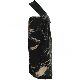 April May Black Silk Dress for Women