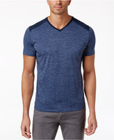 Alfani Men's Pieced V-Neck Performance T-Shirt, Only at Macy's