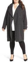 French Connection Plus Size Women's Trench Coat