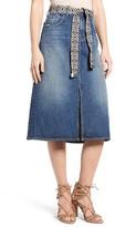 Current/Elliott Women's The Slit Midi Skirt