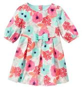 Gymboree Floral Corduroy Dress