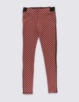 Marks and Spencer Dogtooth Checked Jeggings (5-14 Years)