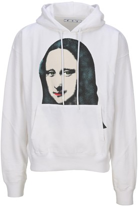 Off-White Mona Lisa Printed Hoodie