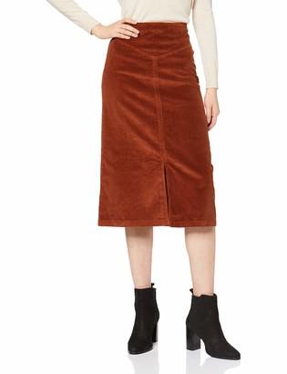Dorothy Perkins Women's Cord a line midi Skirt