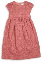 Burberry Little Girl's & Girl's Cap Sleeve Lace Dress