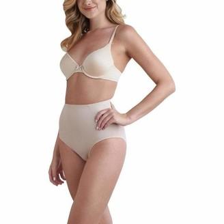 Naomi & Nicole Naomi and Nicole 7344-1-020 Women's Nude Firm/Medium Control Slimming Shaping High Waist Brief XLGE