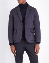 Paul Smith Single-breasted quilted shell jacket