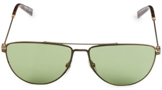 Givenchy 58MM Stainless Steel Aviator Sunglasses