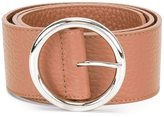Orciani wide round buckle belt - women - Leather - 85