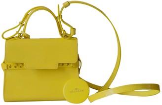 Delvaux TempAte Yellow Patent leather Handbags