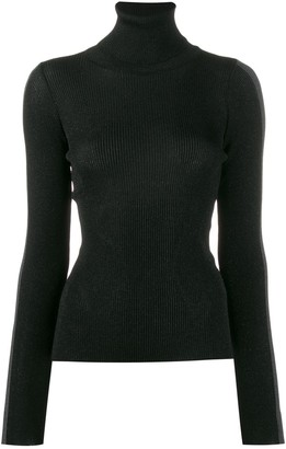 Ssheena Ribbed Roll Neck Sweater