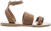 Ancient Greek Sandals Suede Agni Sandals