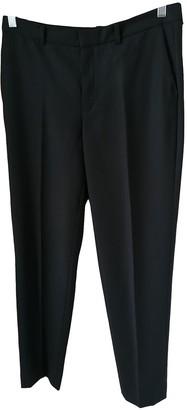 Drykorn Black Wool Trousers for Women