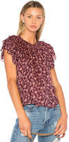Ulla Johnson Leoda Top in Burgundy. - size 0 (also in )