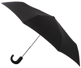 Totes Wonderlight Auto Open/close Crook Umbrella, Black