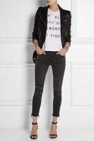 Zoe Karssen Up All Night cotton and modal-blend T-shirt